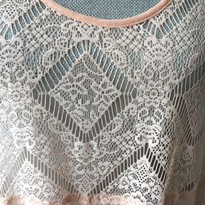Anthropologie Dresses - E by Eloise Anthropologie lace dress top boho